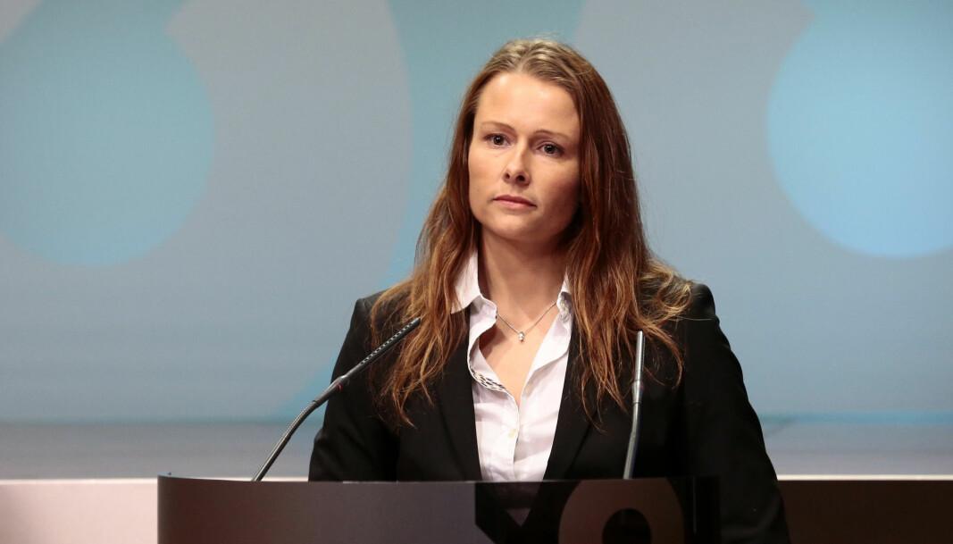 Therese Riiser Wålen er kommunikasjonssjef i Finansdepartementet.