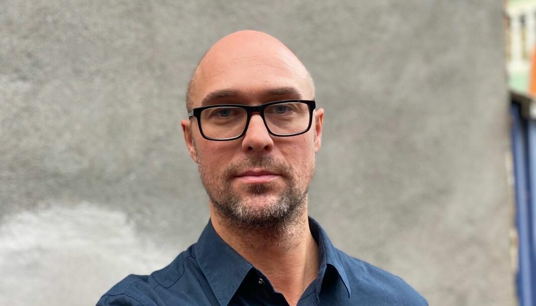 Kommunikasjonsrådgiver Eirik Jagmann i Oslo Kommune.
