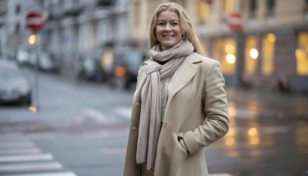 HyperRedink stakk av med gull i kategorien «internmarkedsføring». På bildet er byråleder Henriette Leikanger.