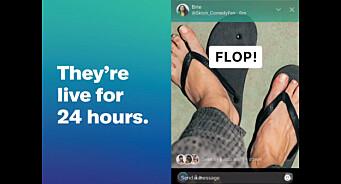 Twitter går i strupen på Snapchat og Instagram