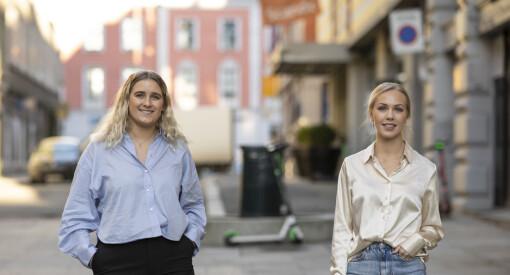 PR-operatørene arrangerte digital rekrutteringsdag. Nå er Viktoria (25) og Sara (23) ansatt som rådgivere