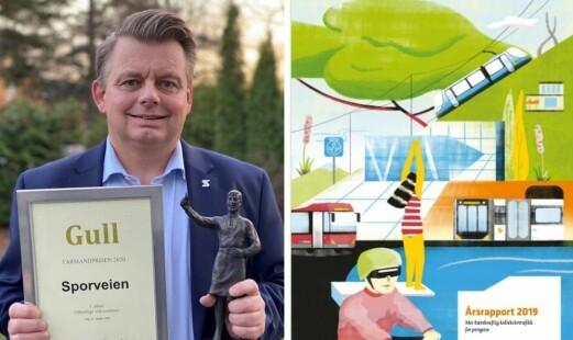 Sporveien belønnes for «utradisjonell» årsrapport: – Trenger ikke være kjedelig