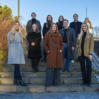 Nytt styre i Kommunikasjonsforeningens studentlag i Oslo