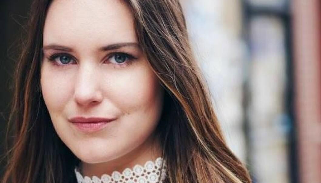 Kommunikasjonsrådgiver Ida Helene Andersen er én av flere bak Stortinget_Ung på Instagram.