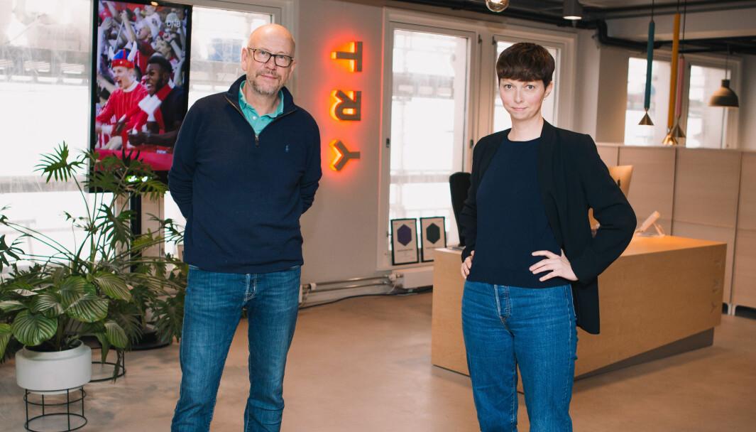 Administrerende direktør Kjetil Try sammen med daglig leder for Try i Bergen, Synnøve Vindheim Svardal.