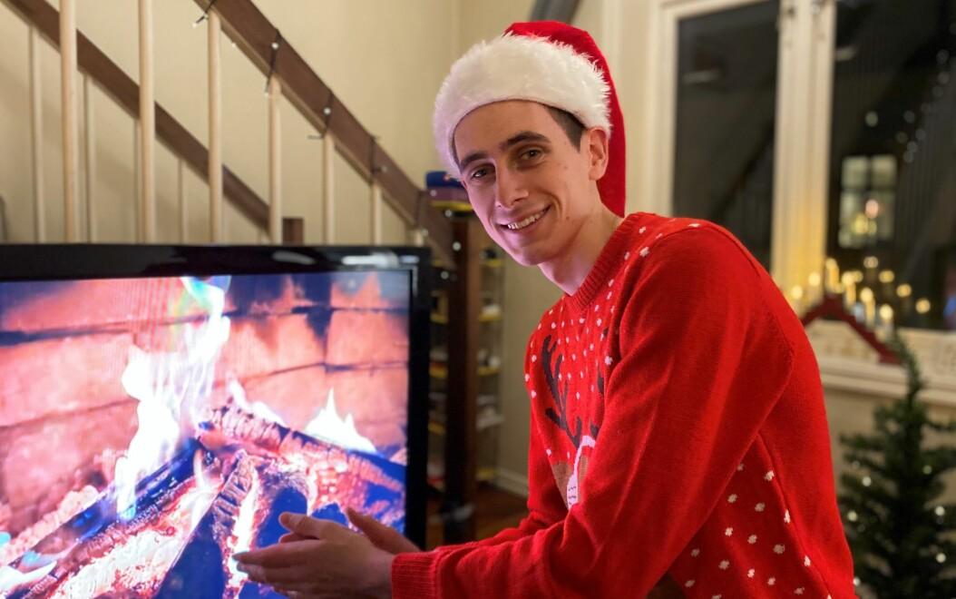 – Hos oss blir det selvfølgelig ribbe. Tenke seg å servere noe annet på julaften!