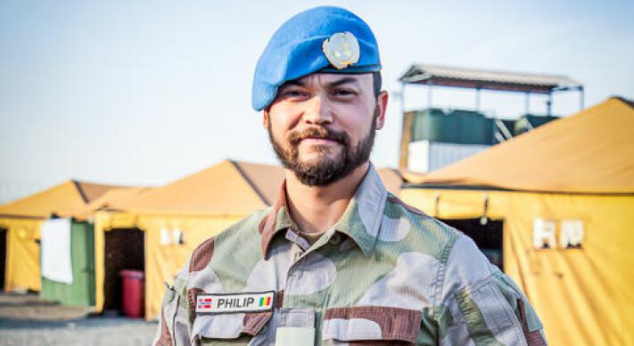 Philip rapporterer for Forsvaret fra Mali: – Drømmejobben