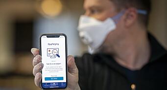 Etter én dag har over 100.000 lastet ned den nye smittestopp-appen