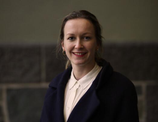 Ingrid har fått jobb ved Statsministerens kontor