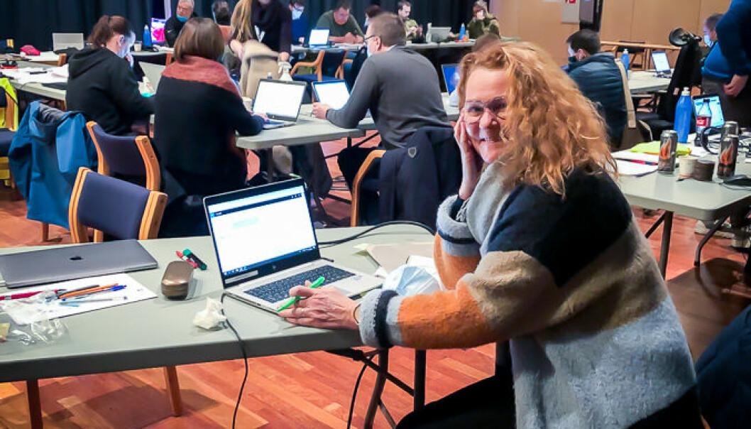 Mari Rjaanes meldte seg for å jobbe med kommunikasjon etter leirskredet på Gjerdrum i romjulen..