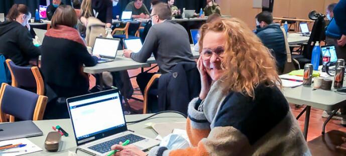 Mari meldte seg selv for å bistå Gjerdrum med krisekommunikasjonen