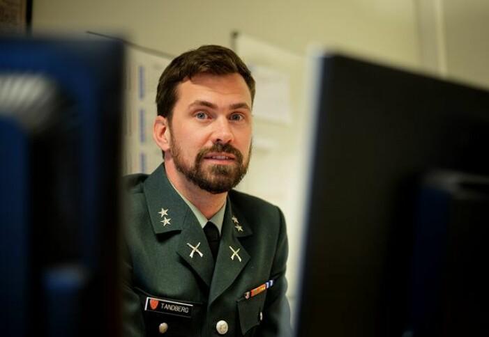 Fredrik Tandberg er tilbake i Forsvaret: – Et unikt fellesskap