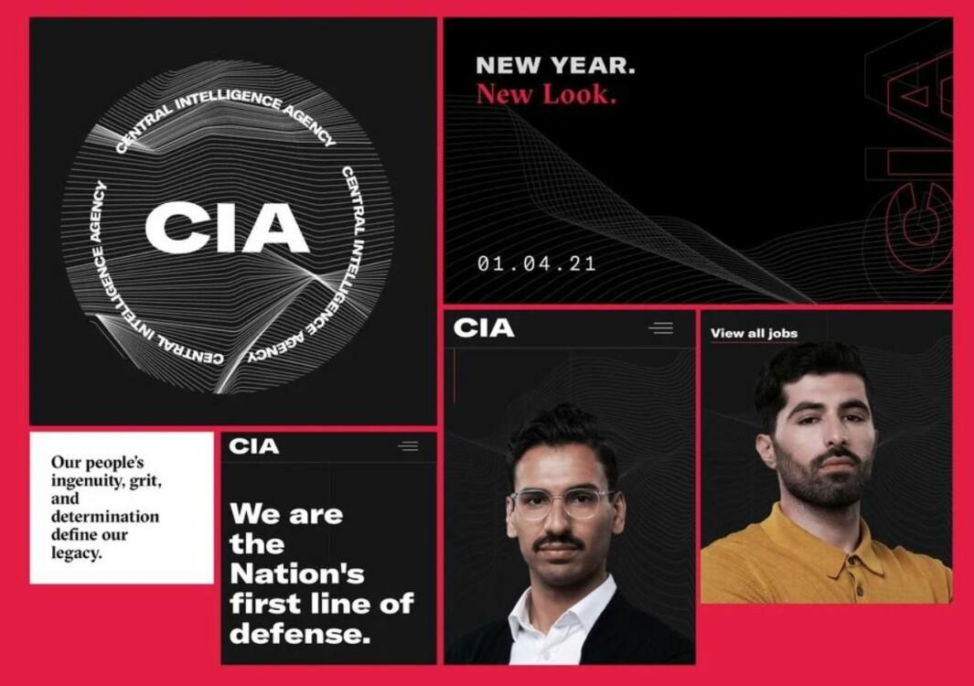 CIAs nye logo og profil har fått mange tilbakemeldinger i sosiale medier.