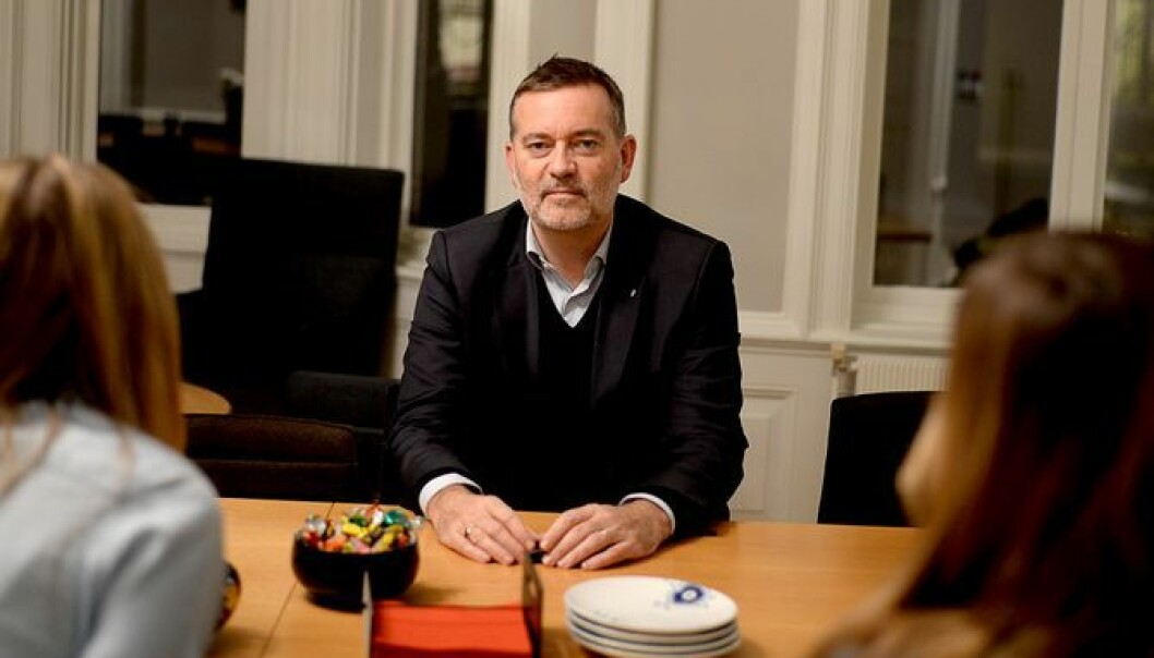 Daglig leder og partner Jan-Erik Larsen i Kruse Larsen.