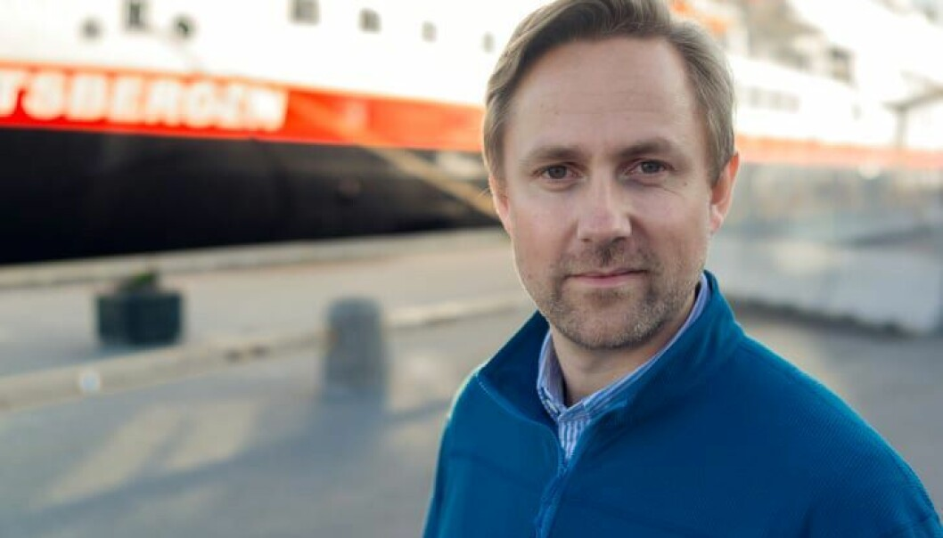 Kommunikasjonssjef Rune Thomas Ege i Hurtigruten.