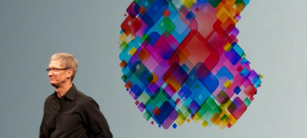 Apple-sjefen refser sosiale medier