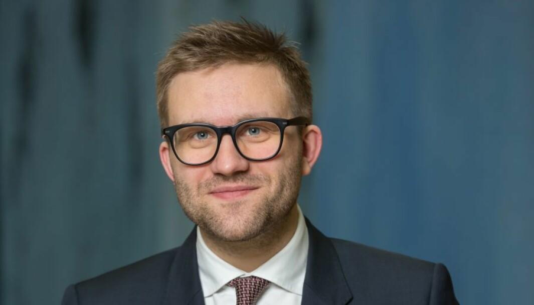 Stortingsrepresentant Stefan Heggelund (H).
