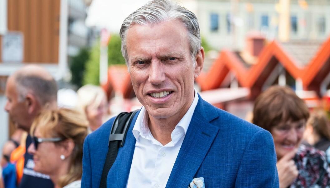 Rolv Erik Ryssdal, administerende direktør i Schibsted fotografert under Arendalsuka i 2019.
