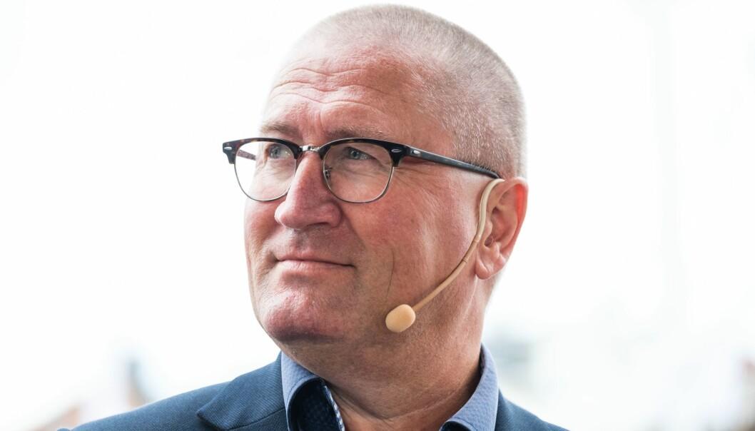 Mediepolitisk talsmann Geir Jørgen Bekkevold (KrF) under Arendalsuka.