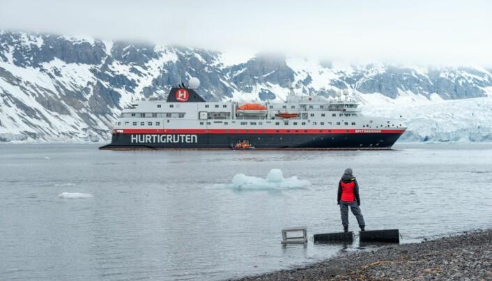 Hurtigruten satser mer på ekspedisjoner internasjonalt framover.