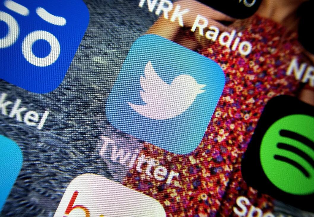 Illustrasjonsfoto av Twitter-appen.