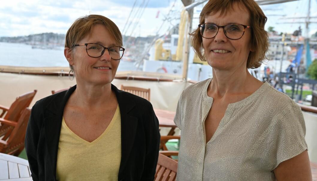 Professor Eli Skogerbø, her sammen med Lisbeth Morlandstø under Arendalsuka.