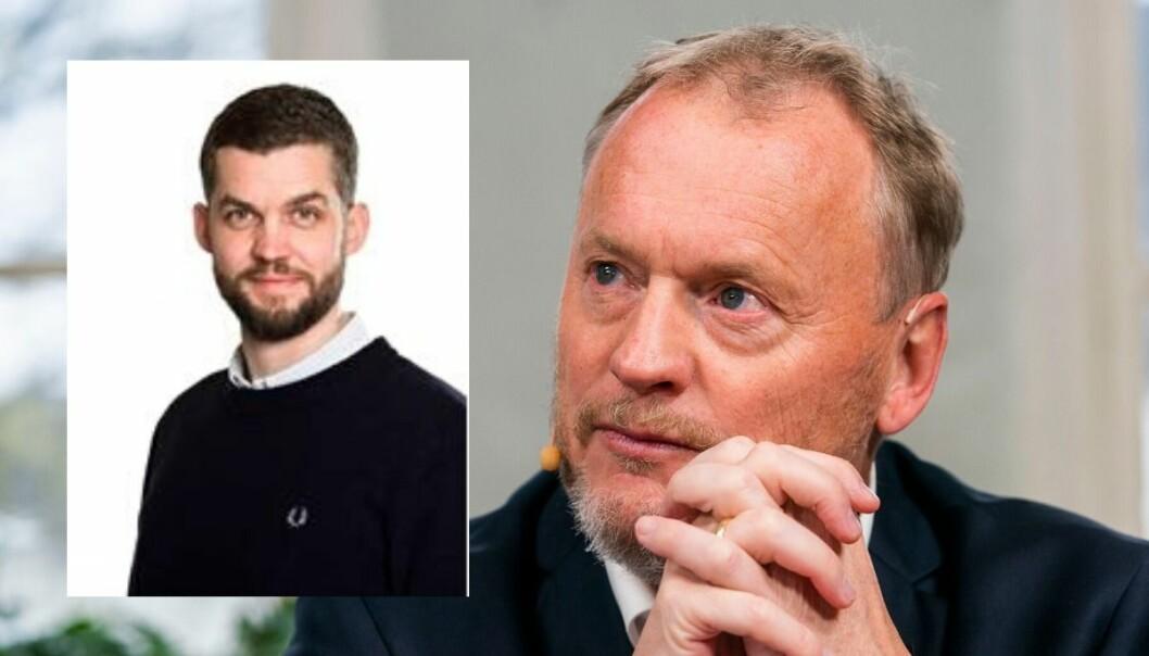 Anders Lundell jobber i dag som taleskriver for Raymond Johansen.