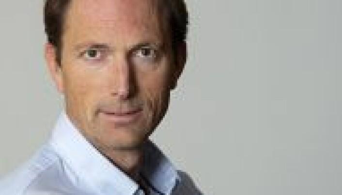 Finansavisen-redaktør Steinar Grini.