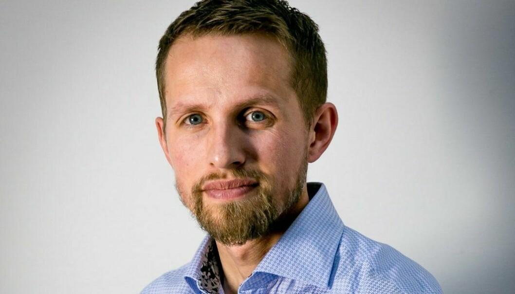 Sjefredaktør i Nordlys, Helge Nitteberg.