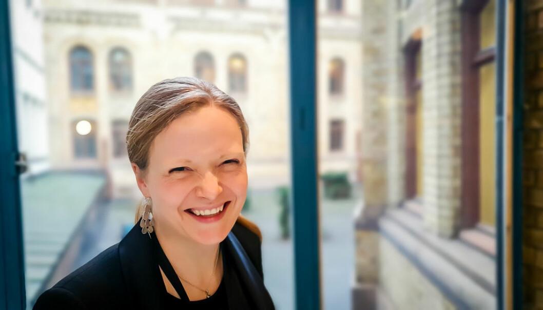 KrFs kommunikasjonssjef Elisabeth Løland forteller i denne saken om hvor viktig sosiale medier blir for de i den kommende valgkampen