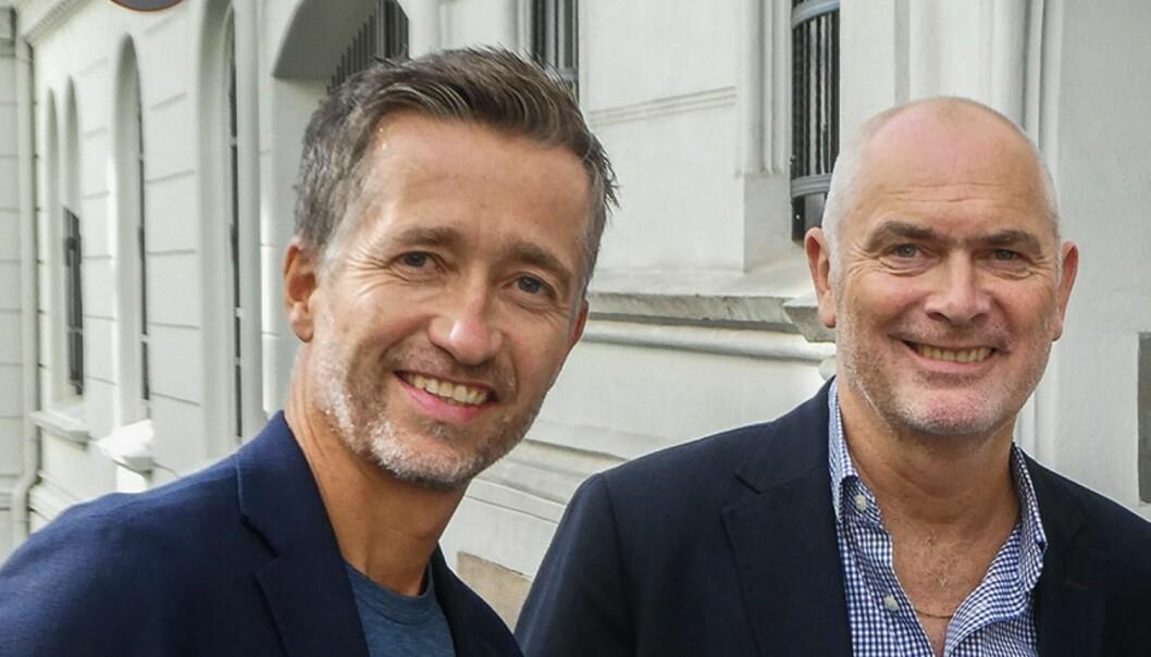 ANFOs Håvard Kvernaas Bakken og Jan Morten Drange.