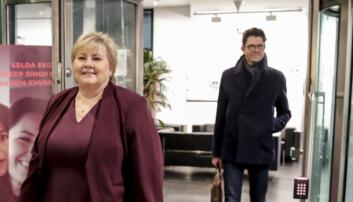 Høyre brukte over en halv million kroner på Snapchat-reklame i 2017 valgkampen