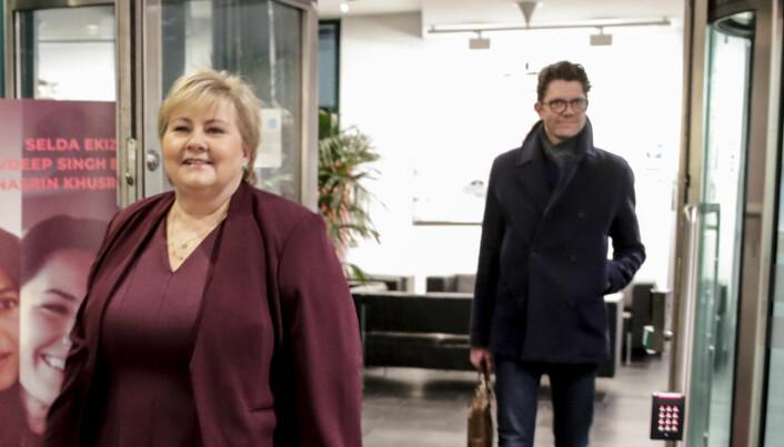 Høyre brukte over en halv million kroner på Snapchat-reklame i 2017 valgkampen – Her kan du se hva de skal gjøre i år