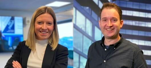 Charlotte og Ketil er ansatt i Media City Bergen: – Glad for å være om bord