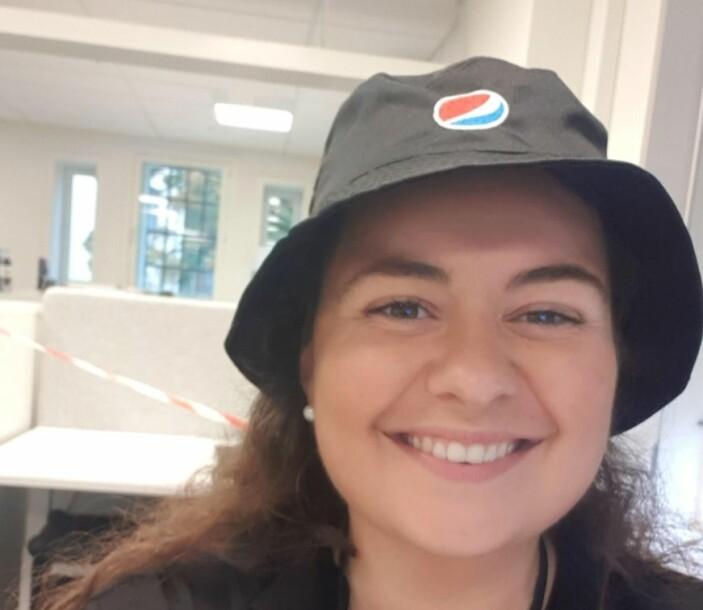 Brand Manager Helene Løvestam i Pepsi Max.