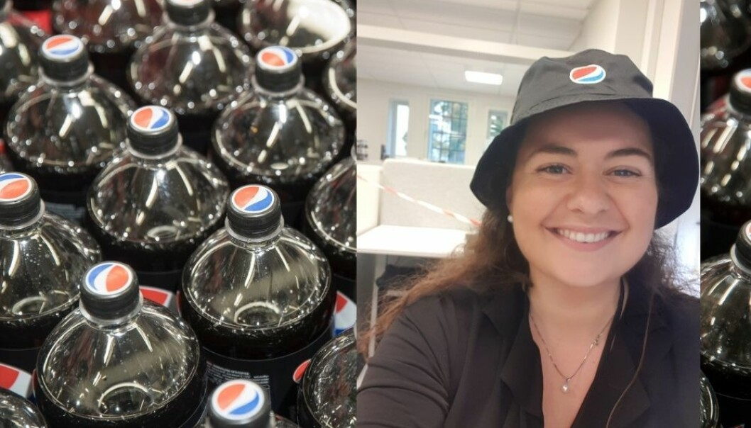 Emilie forsvant da hun skulle kjøpe favorittbrusen - nå er hun Pepsi Maxs nye brand ambassador