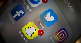 Sosiale medier ble mindre viktig under koronakrisen