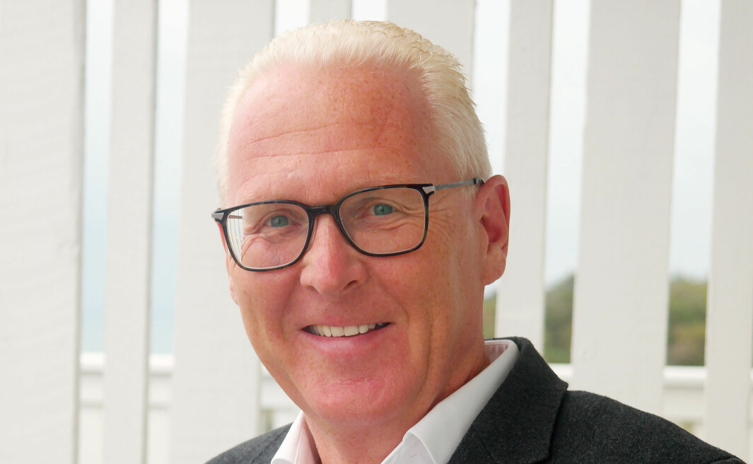 Prosjektleder Morten Martinsen i Social Media Days 2021.