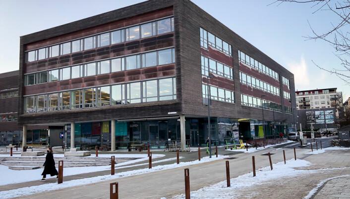 BI-bygget på Møhlenpris i Bergen. Apriil har sine kontorer i fjerde etasje av dette bygget.