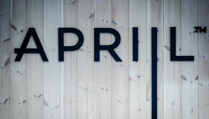 Detalj fra Apriil sine lokaler i Bergen.