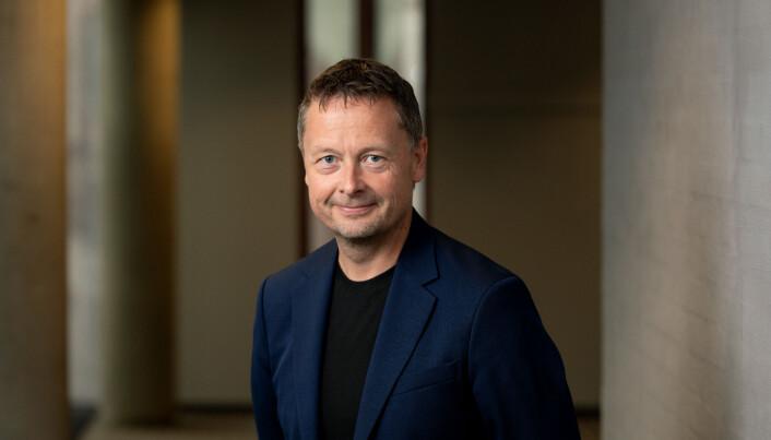 Jan-Petter Dahl er pressesjef i TV 2 og er helt klar på at de har tabbet seg ut da de brukte Sanders-bildet.