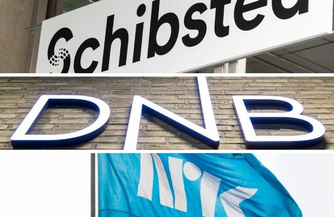 Schibsted, DNB og NRK blir av respondentene i årets Teft-undersøkelsee trukket frem som de mest attraktive arbeidsgiverne.