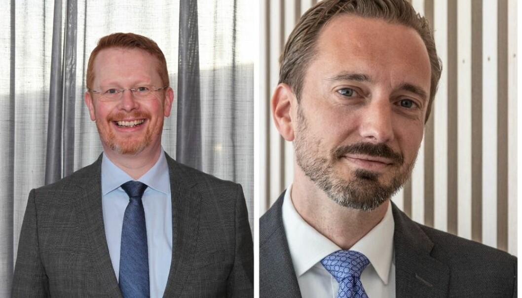 Henrik Glette, kommunikasjonsdirektør i Statnett og Odd Hoen-Sevjen, partner i First House, er begge sjokkerte over krisehåndteringen til Geelmuyden Kiese.