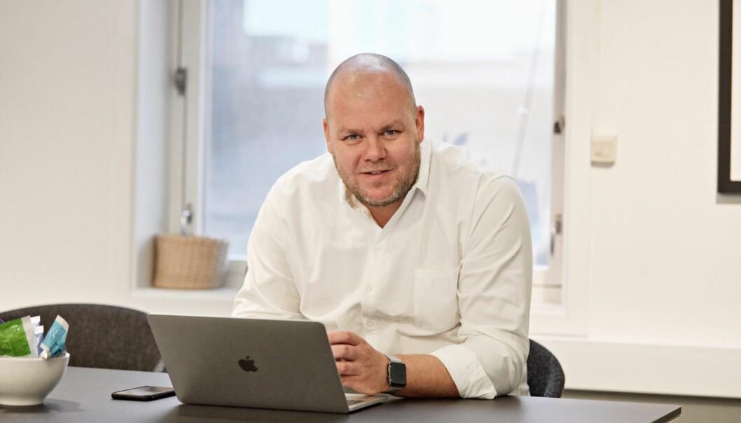 Daglig leder og rådgiver Henrik Sandberg i Teft.