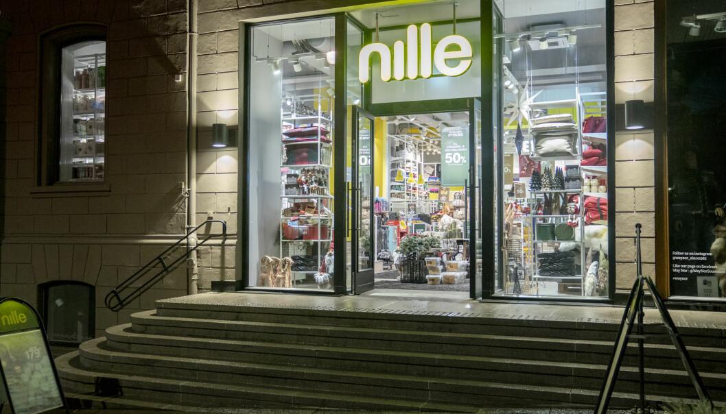 Oslo 20201113.  Butikkene i Oslo sentrum er enten stengt eller har svrt lite beskende grunnet herjingen av koronaviruset. Nille Foto: Fredrik Hagen / NTB