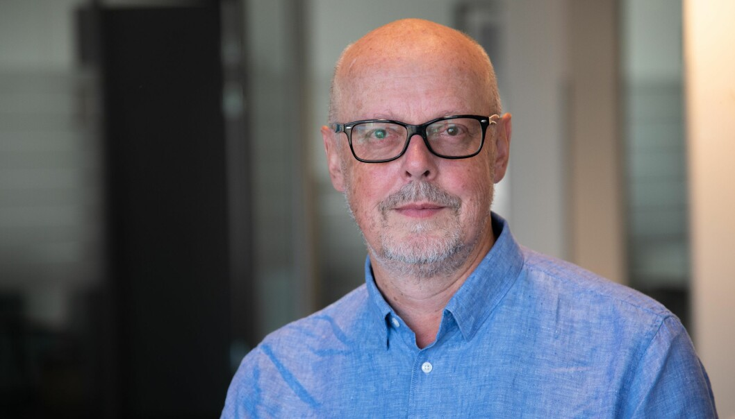 Kommunikasjonsdirektør Bjørn Lyster i Utledningsnemda.