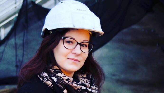 Daglig leder Andrea Nogva i næringsklyngen InnovArena håper flere får øynene opp og lyst på en yrkeskarriere i de moderne kystnæringene.