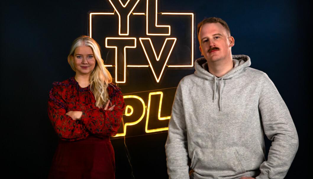 Maren Aas Nakken, daglig leder i Splay One Norge og Marius Solberg, Head of YLTV.