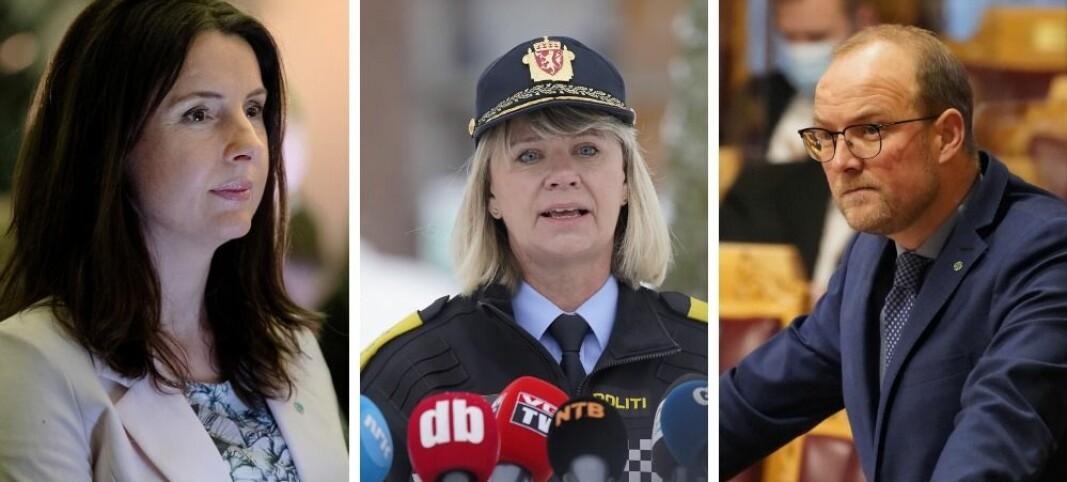 Senterpartiet til angrep på politiets kommunikasjonsrådgivere