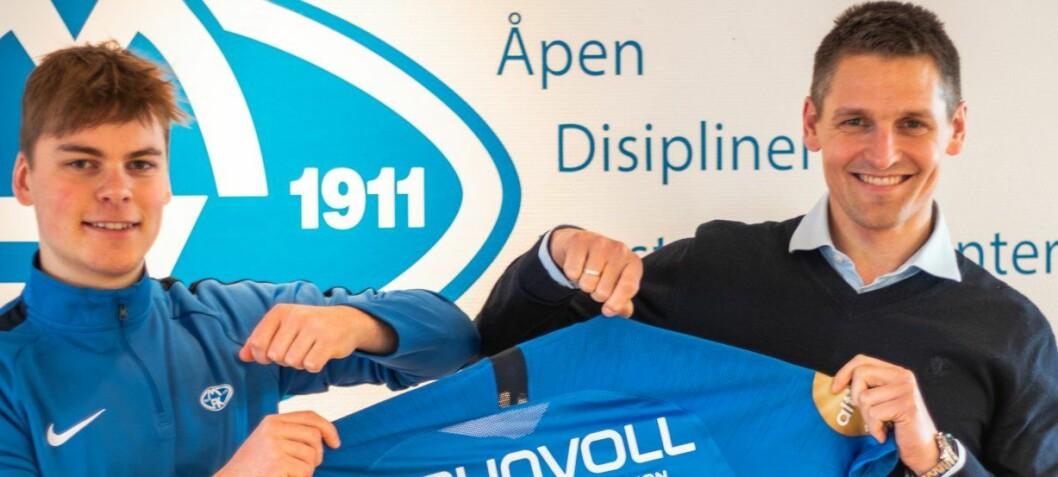 Offensiv 19-åring blir kommunikasjonsansvarlig i Molde fotballklubb